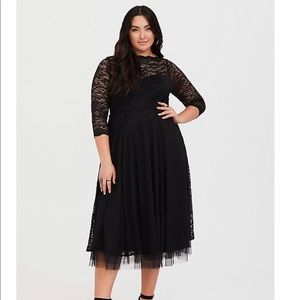 Black lace Special occasion dress